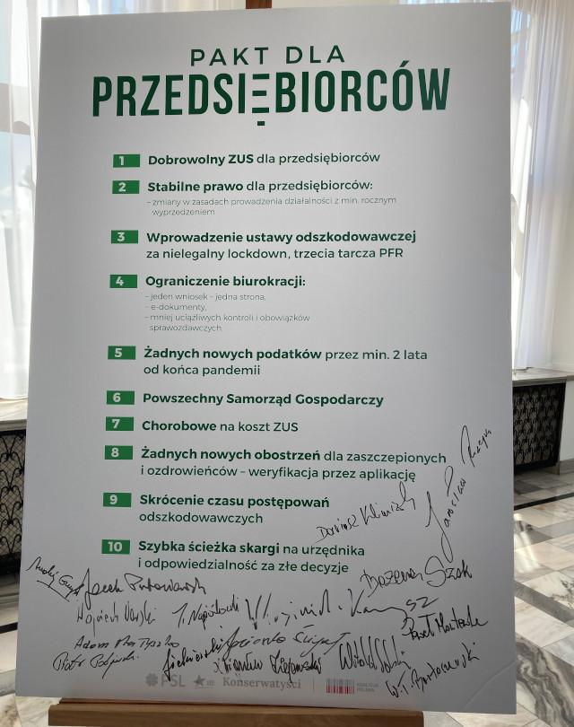 Pakt dla przedsiębiorców